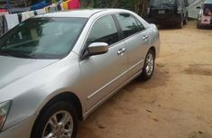 Clean Honda Accord 2007 Silver For Sale