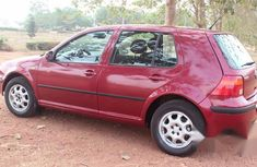 Neat Volkswagen Golf 4 2000 Red For Sale