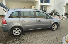 Opel Zafira 2006 Silver For Sale