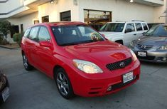 Clean Toyota Matrix for sell 2005 model Red colour