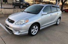 Clean Toyota Matrix for SALE 2005 model silver colour