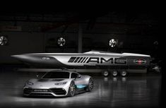 Cigarette Racing and Mercedes-AMG reveal N722m hypercar-inspired racing boat