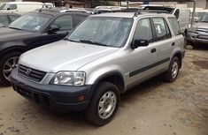 Clean Honda Cr-v 2004 Silver for sale