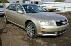 AUDI A8 2007 Gold for sale