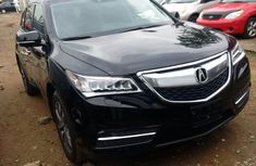 Neat Acura Zdx black 2011 for sale
