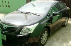 Toyota Avensis 2010 Black for sale