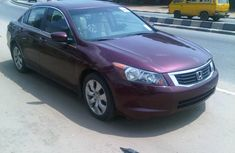 Buy and drive Tokunbo Honda Accord 2009 Red for sell