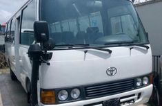 2012 White very clean Toyota Coaster bus for sale