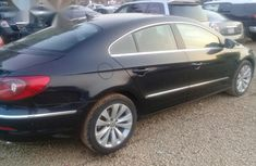 Nigerian Used Volkswagen CC 2010 Black for sale