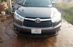 Toyota Highlander Limited 2014 Gray for sale