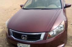Neatly Used Honda Accord 2008 Red FOR SALE