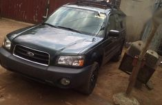 Subaru Forester 2004 Green for sale