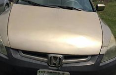 Nigerian Used Honda Accord 2003 Gold for sale