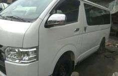Tokunbo Toyota Hiace Bus 2012 White For Sale