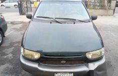 Nigerian Used Nissan Quest 2001 Green For Sale