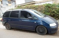 Volkswagen Sharan 2001 Petrol Manual Blue for sale