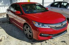 2017 HONDA ACCORD RED FOR SALE
