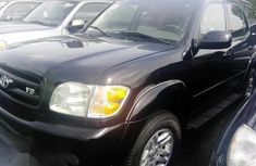 Toyota Sequoia 2004 Black for sale