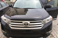 Foreign used Toyota Highlander 2012