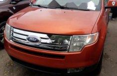 Ford Edge 2009 orange for sale