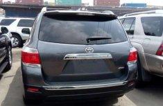 Foreign used Toyota Highlander 2012