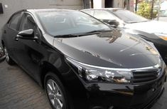 Toyota Corolla 2016 Petrol Automatic Black for sale