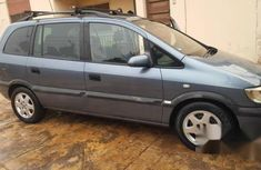 Opel Zafira 2001 Gray for sale