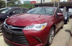 Toyota Camry 2016 Petrol Automatic Red for sale