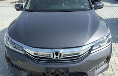 Clean Honda Accord 2015 Gray for sale