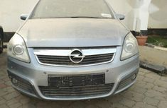 Opel Zafira 2006 Silver For Sale