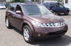 Clean Nissan Murano 2003 model for sale with full auction