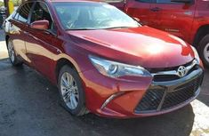 Toyota Camry 2017 Red for sale