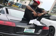 The cool car collection of Davido