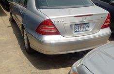 Very clean Mercedes-Benz C240 2005 Silver for sale with full auction