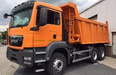 MAN TGS 33.400 2008 Orange for sale