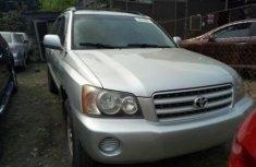 Toyota Highlander 2002 ₦2,500,000 for sale