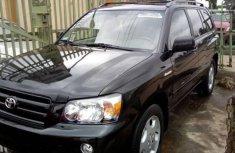 Almost brand new Toyota Highlander Petrol 2005