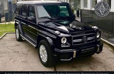 Almost brand new Mercedes-Benz G63 Petrol 2017 for sale