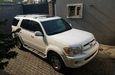 Toyota Sequoia 2007 Petrol Automatic White for sale