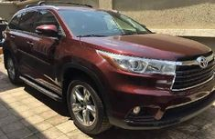 2014 Toyota Highlander Automatic Petrol well maintained for sale