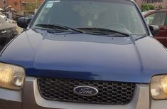 Ford Escape Hybrid 2006 Blue for sale
