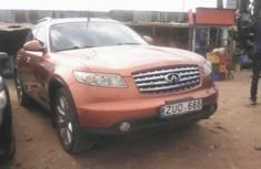 Infiniti FX 2003 Petrol Automatic Orange for sale