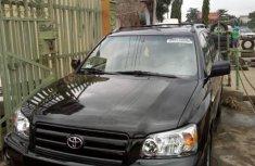Toyota Highlander 2005 Petrol Automatic Black