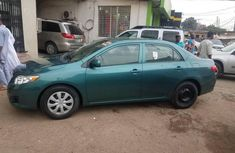 Toyota Corolla 2010 Petrol Automatic Green for sale