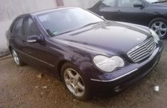 Mercedes-Benz C200 2003 Petrol Automatic Purple for sale