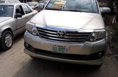 Toyota Fortuner 2012 in good condition for sale