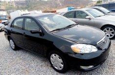 Toyota Corolla 2005 Petrol Automatic Black for sale