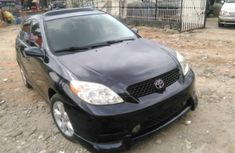 Clean Toyota Matrix 2003 Blue for sale with full auction