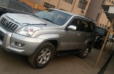 Clean Toyota Land Cruiser Prado jeep 2014 Silver for sale with full auction