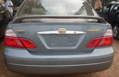 Clean Toyota Avalon 2000 Grey for sale with full auction